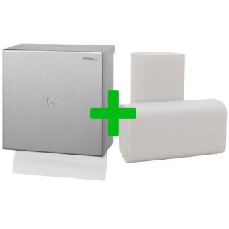 Duo Deal Qbic-Line Handdoekdispenser