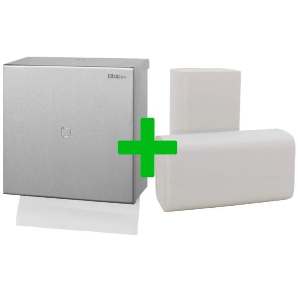 Duo Deal Qbic-Line Handdoekdispenser