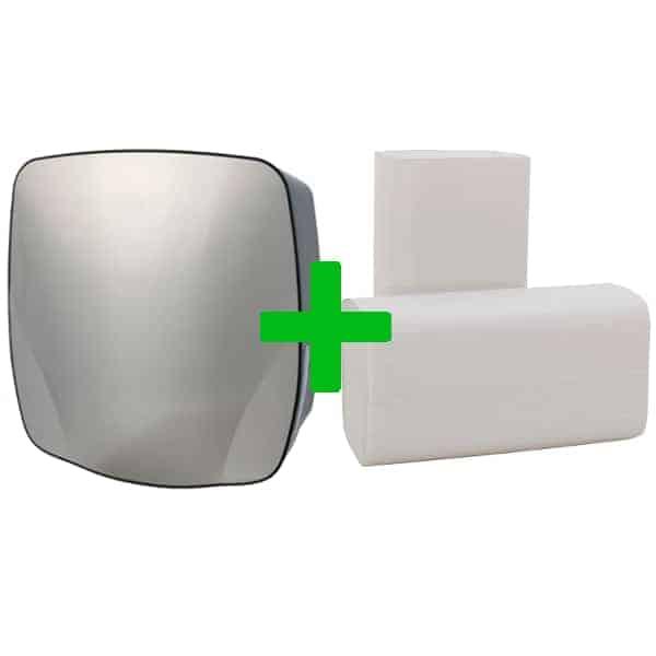 Duo Deal: Handdoekdispenser PlastiQline Exclusive