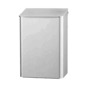 Afvalbak 6 liter gesloten RVS, MQWB6E
