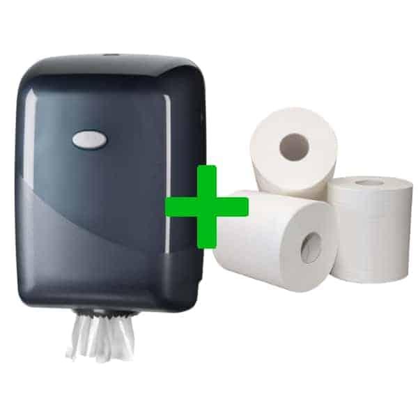 Duo Deal: Midiroldispenser Pearl Black