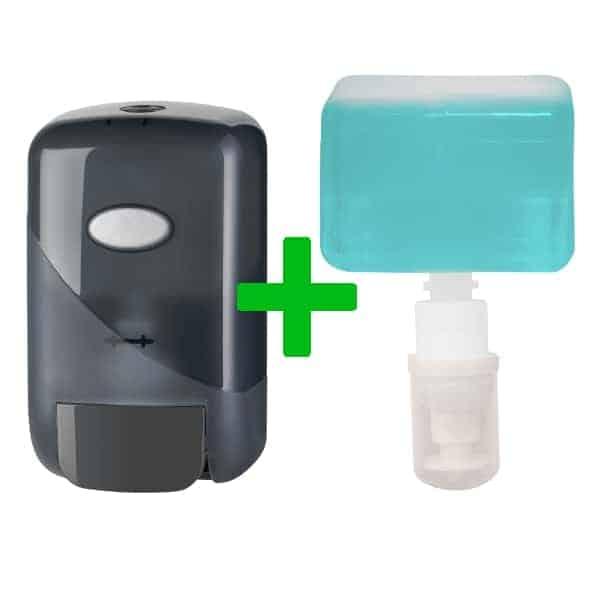 Duo Deal: Mini Foamzeepdispenser Pearl Black