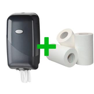 Duo Deal: Miniroldispenser Pearl Black