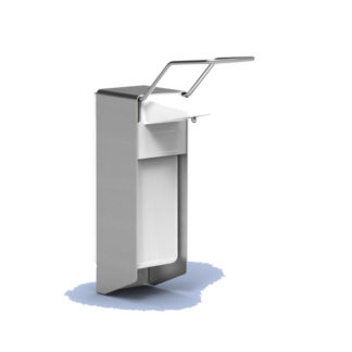 MediQo-Line Zeepdispenser Aluminium