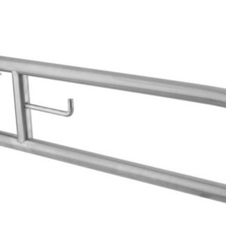 RVS Toilet Handgreep / Steun Opklapbaar 80 cm.