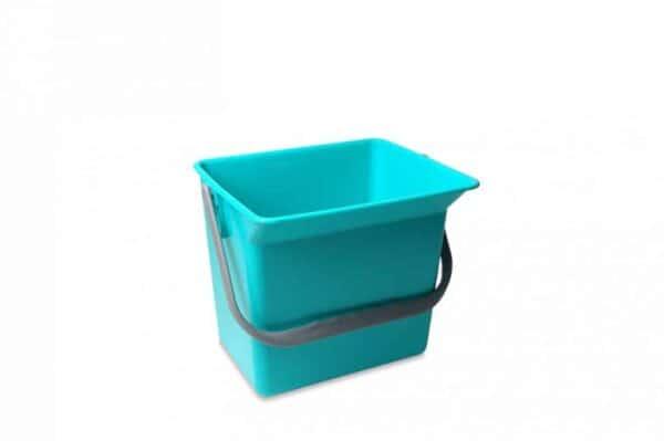 Emmer 6 liter Groen met hengsel en schenkgedeelte