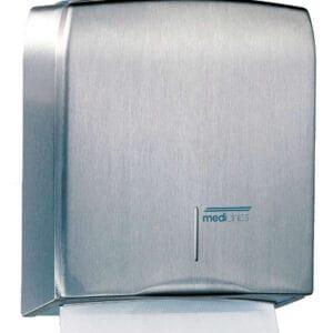 Mediclinics Handdoekdispenser RVS mat