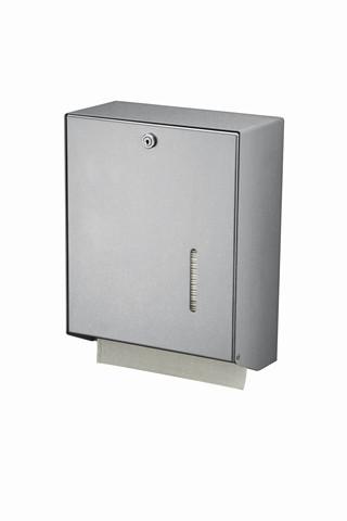 Mediqo-line Handdoekdispenser Groot Aluminium