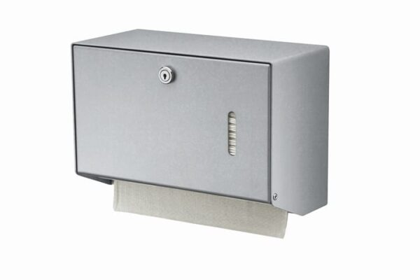 Mediqo-line Handdoekdispenser Klein Aluminium