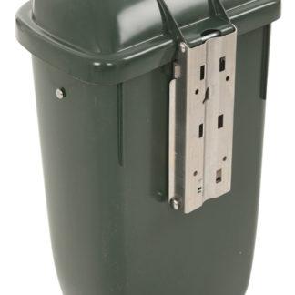 Buitenafvalbak DIN-PK 50ltr Groen