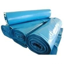 Afvalzak 65-25x140x70my Blauw