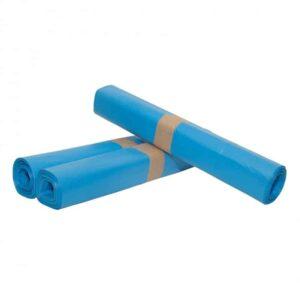 Afvalzakken HDPE Blauw  80cm x 110cm