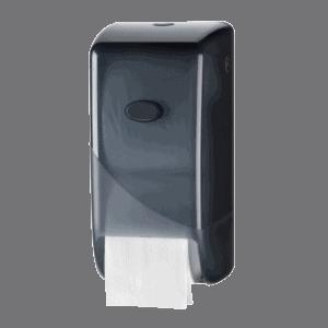 Bruikleen toiletroldispenser zwart