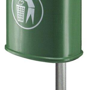 Buitenafvalbak 45ltr Groen