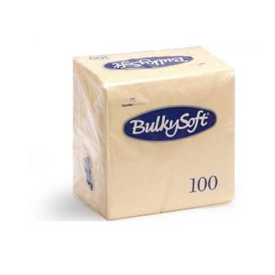 Servetten 2 Laags 40x40 1/4 Vouw 2000st Crème