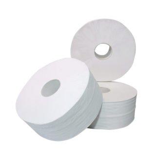Cleanmaster Biolux C127770, Eco Toiletpapier Maxi Jumbo, 300mtr, Cellulose, 2-lgs, 6 rollen