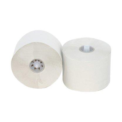Cleanmaster Biolux C120160, Eco Toiletpapier met Dop, 100mtr, Recycled Tissue, 2-lgs, 36 rollen