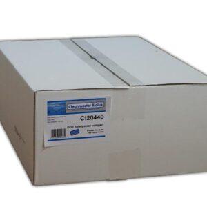 Cleanmaster Biolux C120440, Eco Toiletpapier Compact, 100mtr, Tissue Hoogwit, 2-lgs, 24 rollen