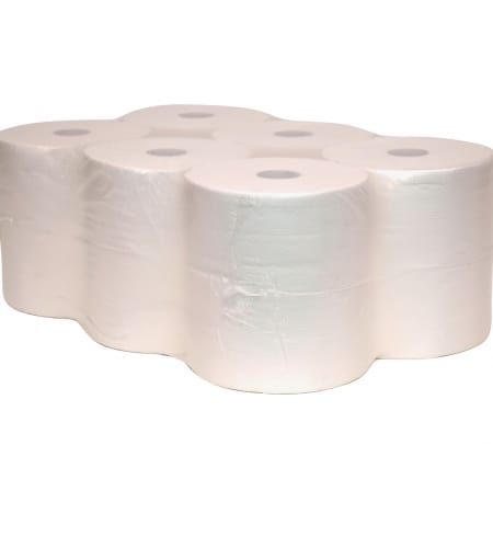Handdoekrollen Cellulose Wit