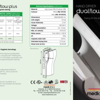 Handendroger Dualflow Wit M14A