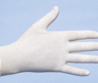 Latex Handschoen Poedervrij Wit Maat XL