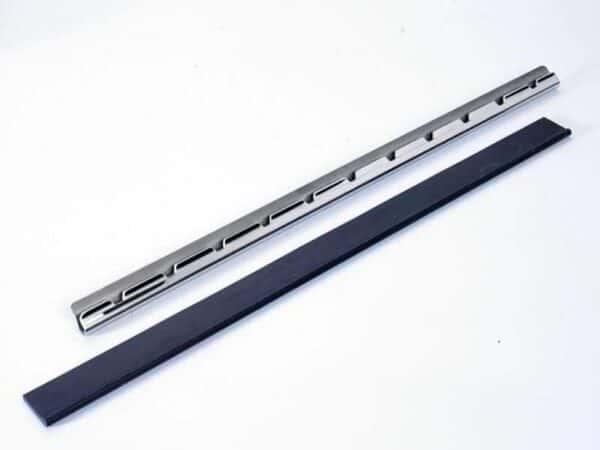 Moerman RVS Liniaal met rubber