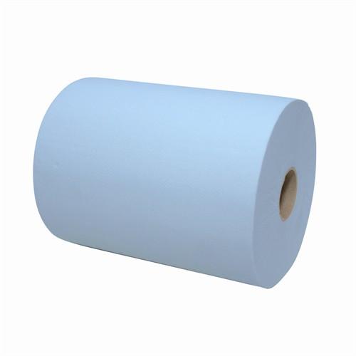 Eco Handdoekrollen Mini Matic XL Blauw