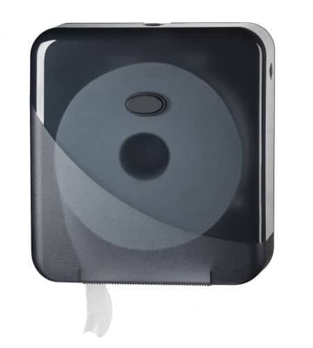 Pearl Black Mini Jumbo Toiletroldispenser