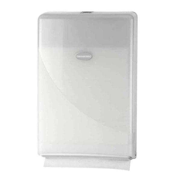 Duo Deal: Gratis Pearl White Handdoekdispenser Minifold
