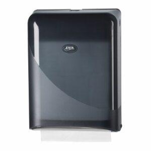 Pearl Black Handdoekdispenser Interfold Z-fold