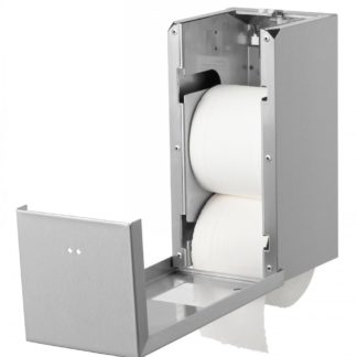 Qbic-Line Toiletrolhouder Open