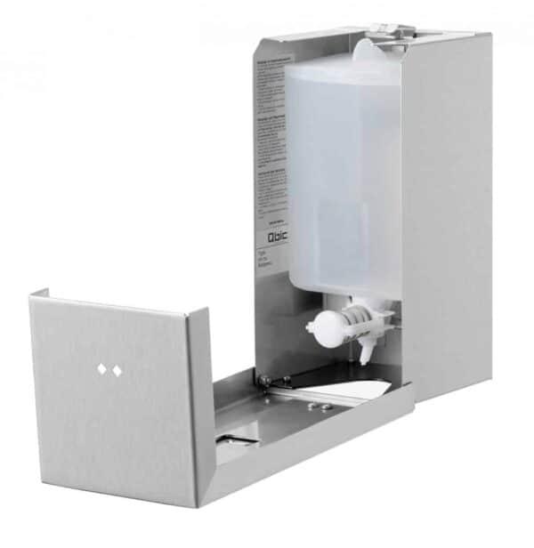 Qbic-Line Zeepdispenser 900ml Open
