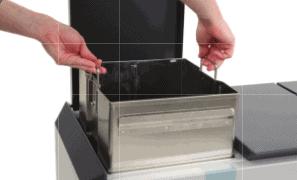 RecycloStar 3 met bekerinzet / Afvalscheiding