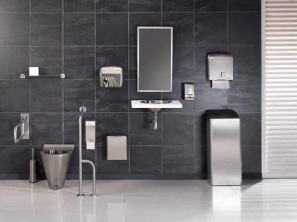 Mediclinics Toiletborstelhouder RVS Mat