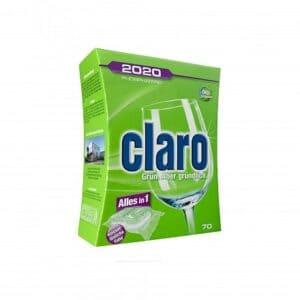 Claro Vaatwastabletten Eco Classic vaatwas tablet 70 stuks