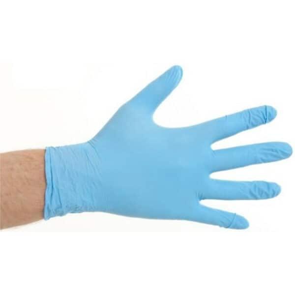 Nitril Handschoen Poedervrij Blauw