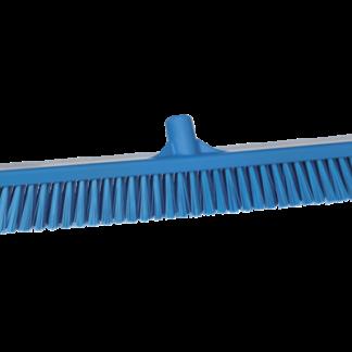 Vikan Combiveger Blauw, harde/zachte vezels, 60cm