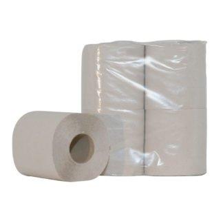Euro Products 239402, Toiletpapier Traditioneel, 250 vel, Naturel, 1-lgs, 64 rollen