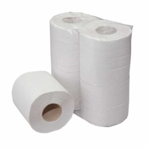 Euro Products 238320, Eco Toiletpapier, 200 vel, Traditioneel Recycled Tissue, 2-lgs, 64 rollen