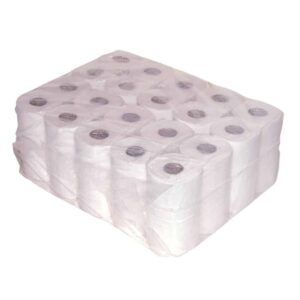 Euro Products 238340, Eco Toiletpapier Traditioneel, 400 vel, Recycled Tissue, 2-lgs, 40 rollen