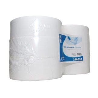 Euro Products 240050, Eco Toiletpapier Maxi Jumbo, 500mtr, Cellulose, 1-lgs, 6 rollen