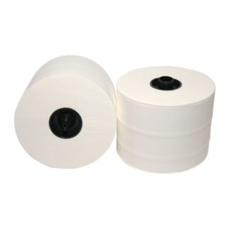 Euro Products 258065, Eco Toiletpapier met Dop, 65mtr, Cellulose, 3-lgs, 36 rollen