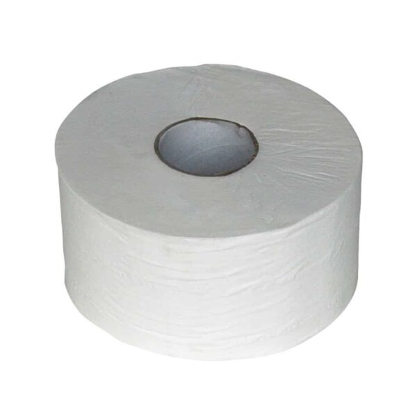 Euro Products 240018, Eco Toiletpapier Mini Jumbo, 180mtr, Cellulose, 2-lgs, 12 rollen