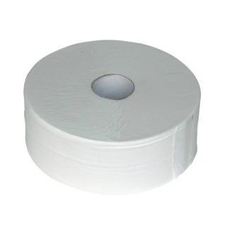 Euro Products 240038, Eco Toiletpapier Maxi Jumbo, 380mtr, Cellulose, 2-lgs, 6 rollen