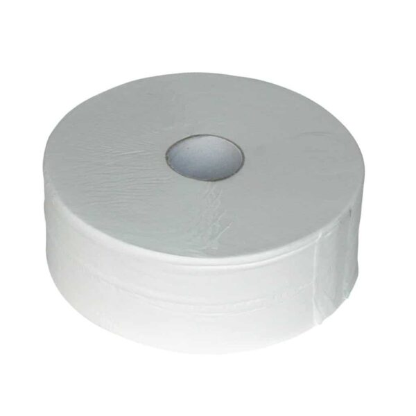 Euro Products 240038, Eco Toiletpapier Maxi Jumbo, 380mtr, Cellulose, 2-lgs, 6 rollen