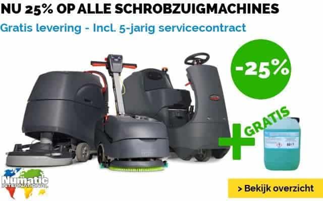 Schrobzuigmachine Actie