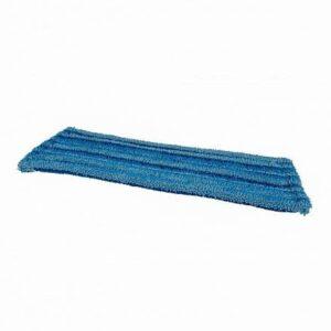 Microvezelvlakmop met scrub 45 cm voor verwijderen van hardnekkig vuil