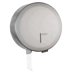 Mediclinics Maxi Jumbo Toiletroldispenser RVS Mat