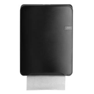 Quartzline Black handdoekdispenser multifold, 441152