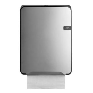 Quartzline Silver handdoekdispenser multifold, 441192